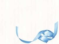 Organzaband Blau