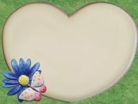 Blüte mit Schmetterling Decoramy Style