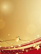 Weihnachten Gold Rot