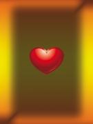 schwebendes Herz
