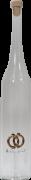 Mundgeblasene Flasche mit Ringen