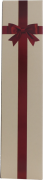 Faltschachtel mit Schleifenaufdruck