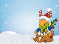 Weihnachten Elch