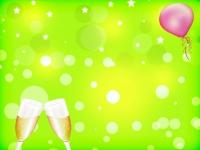 Neon Stars Bubbles