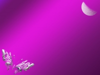 Schmetterling Mond