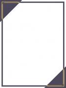 Lila Rahmen Gold