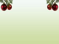 Weihnachten Mint Kugeln